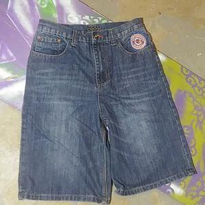 Coogi jean shorts size 18